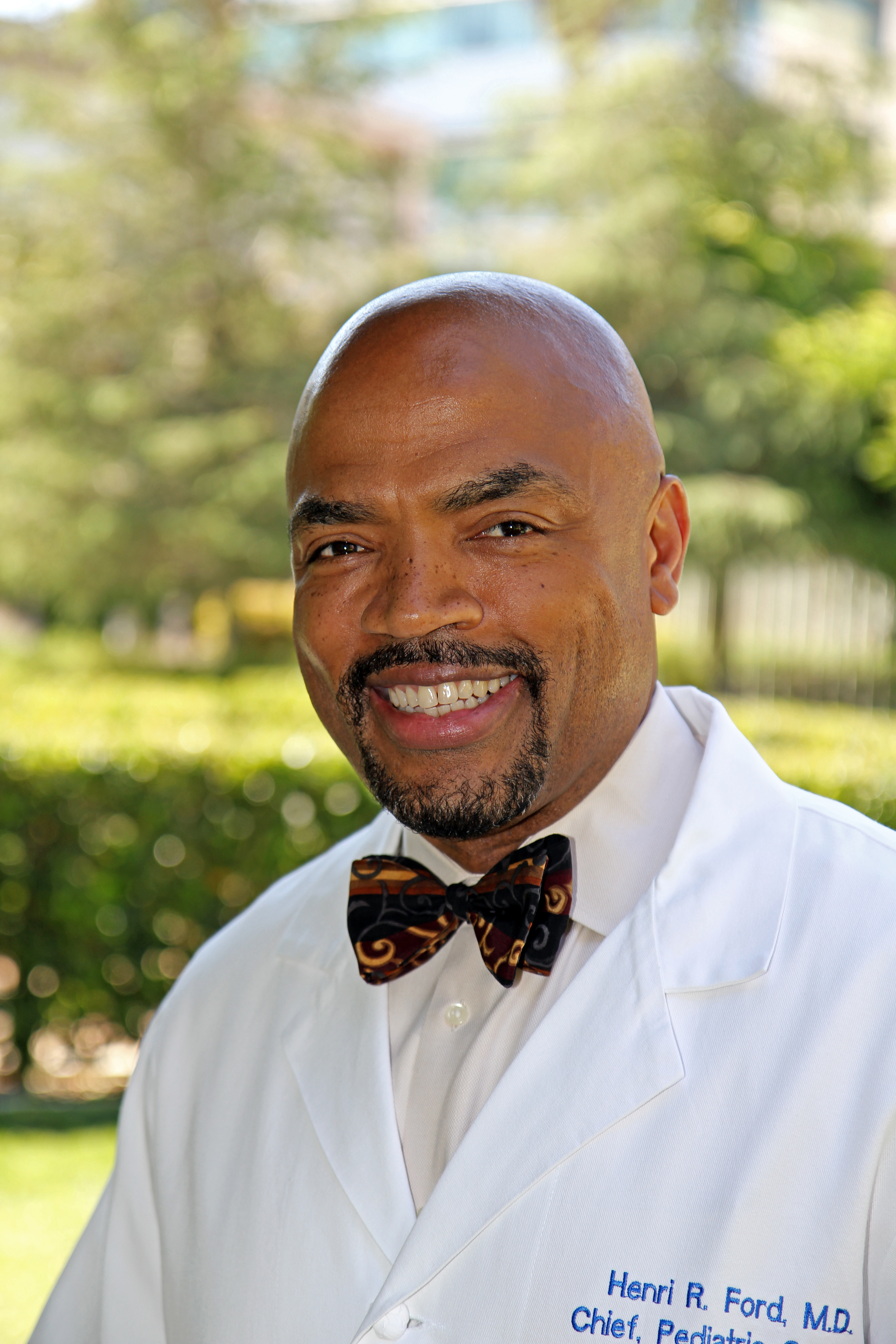 CHLA Vice President and Surgeon-in-Chief Henri R. Ford, MD, MHA, FACS, FAAP, also serves as professor of Surgery and vice dean for Medical Education at the Keck School of Medicine of the University of Southern California. (Photo Courtesy: Children's Hospital Los Angeles)