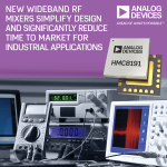 Analog Devices' Wideband RF Mixers Simplify Design and Significantly Reduce Time to Market for Industrial Applications (Graphic: Business Wire).