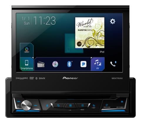 Pioneer AVH-3300NEX Multimedia Car Receiver (Photo: Business Wire)