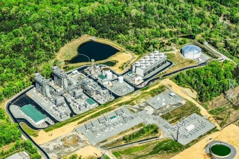The 778-megawatt Panda Stonewall generating station (Photo: Business Wire)