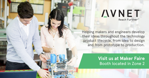 Avnet, a leading global technology distributor, is a presenting sponsor at Maker Faire Bay Area at t ...