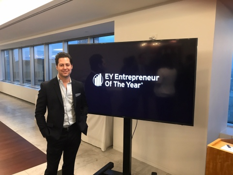 Eric Schweiger MD EY Entrepreneur of the Year.