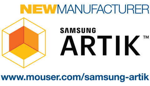 Mouser Electronics has signed a global agreement with Samsung to distribute SAMSUNG ARTIK(TM), an in ...