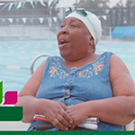 Humana Game Changer and inspiring swimmer Vivian Stancil, 70, of Riverside, California, will compete at the 2017 National Senior Games presented by Humana on June 2-15, 2017 in Birmingham, Alabama. Humana Game Changers are National Senior Games athletes who exemplify healthy aging and provide encouragement, motivation and inspiration for all seniors to start with healthy. (Video: Business Wire)