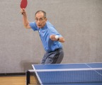 Hiroshi Moriyasu, 70, of Los Angeles, will compete in table tennis at the 2017 National Senior Games presented by Humana and is one of 15 senior athletes being recognized as a 2017 Humana Game Changer. Humana Game Changers are National Senior Games athletes who exemplify healthy aging and provide encouragement, motivation and inspiration for all seniors to start with healthy. The 2017 National Senior Games presented by Humana will take place June 2-15, 2017 in Birmingham, Alabama. (Jeff Lewis/AP Images for Humana)