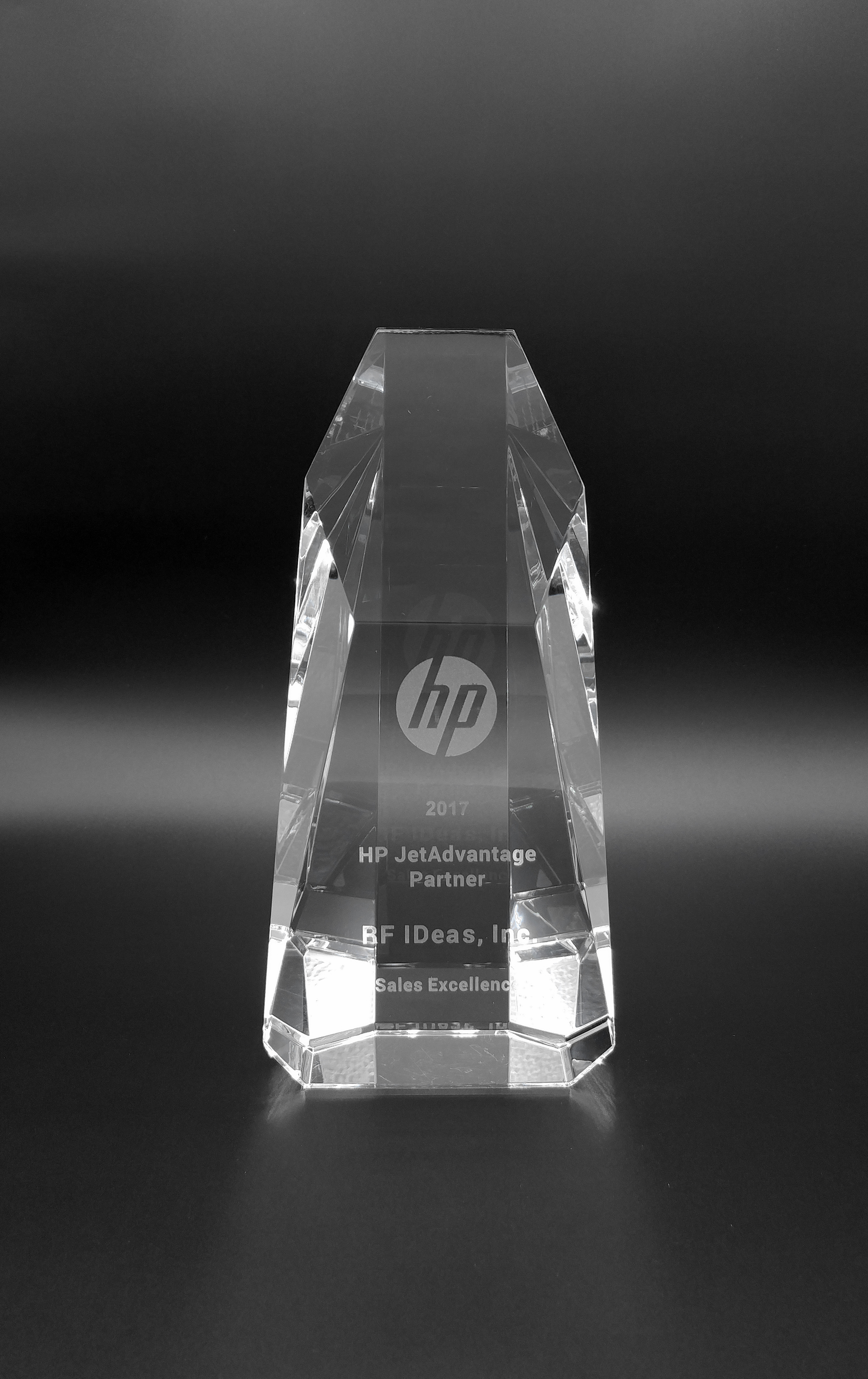 2017 JetAdvantage Sales Excellence Award - RF IDeas (Photo: Business Wire)
