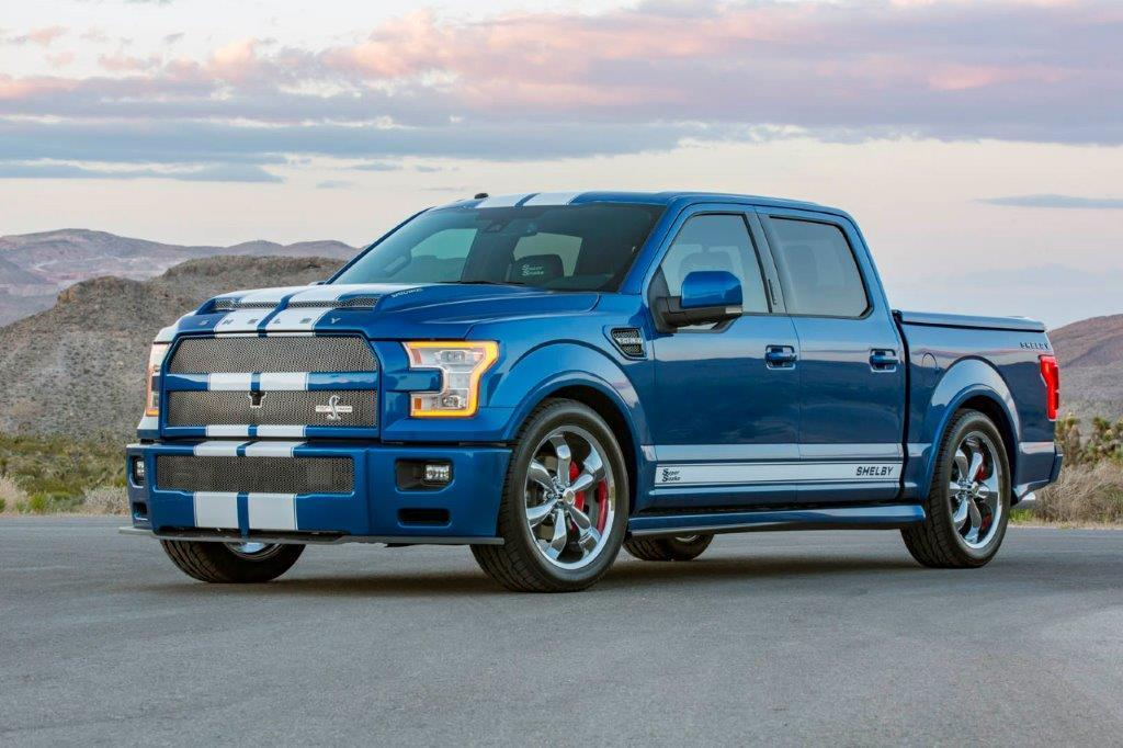 Ford Shelby Truck >> Lightning Strikes Again As Shelby American Unveils Shelby F 150