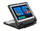 The tablet portion on the Panasonic Toughbook 33 can be connected to the keyboard multi-directionally. (Photo: Business Wire)