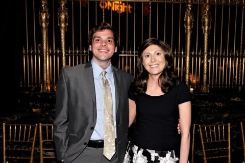 Donor Thomas Davis and marrow recipient Paige McCoy (Photo: David Nicholas Photography)