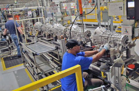 Ford is investing $350 million in its Livonia Transmission Plant, adding a new transmission to expand its lineup of fuel-efficient powertrains as part of the company's plan to fortify its core automotive business. The investment also includes the creation and protection of 800 hourly jobs. (Photo: Business Wire)