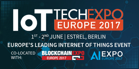 Register FREE for the Europe's leading IoT event, taking place in Berlin on the 1-2 June 2017 (Photo ...