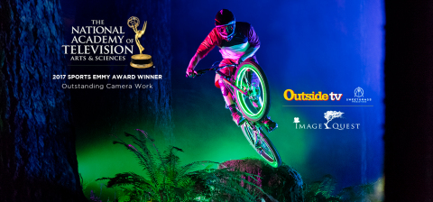 Outside TV is awarded Sports Emmy for Outstanding Camera Work on original series 'Image Quest' (Graphic: Business Wire)