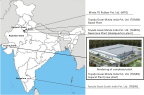 Toyoda Gosei's Production Sites in India (Graphic: Business Wire)