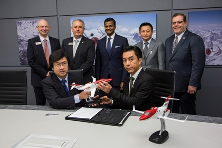 Honda Aircraft Company has appointed Thai Aerospace Services for HondaJet Southeast Asia sales. (Photo: Business Wire)