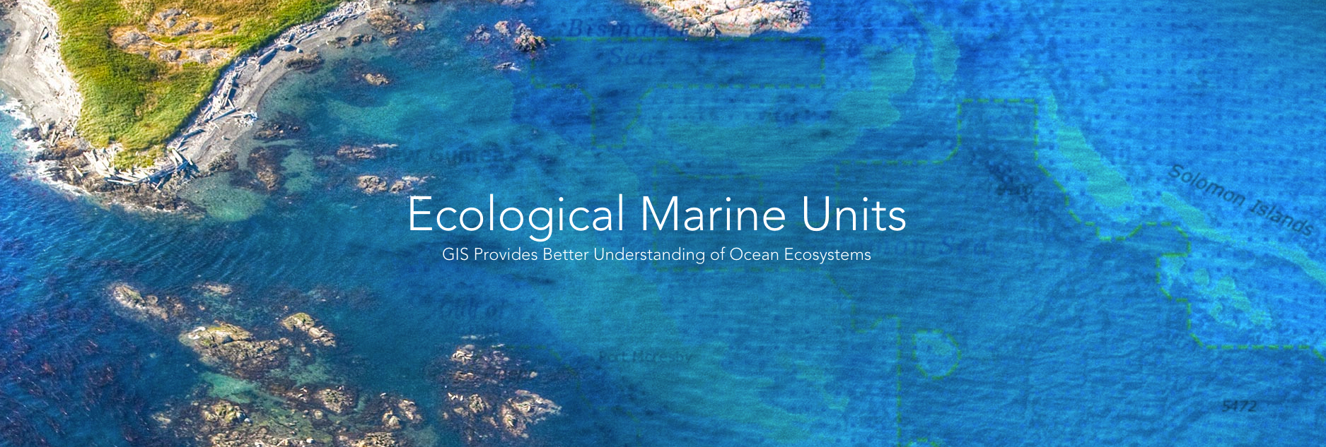 Esri, the global leader in spatial analytics, today announced that its innovative Ecological Marine Units (EMU) app is now available for mobile devices. (Graphic: Business Wire)