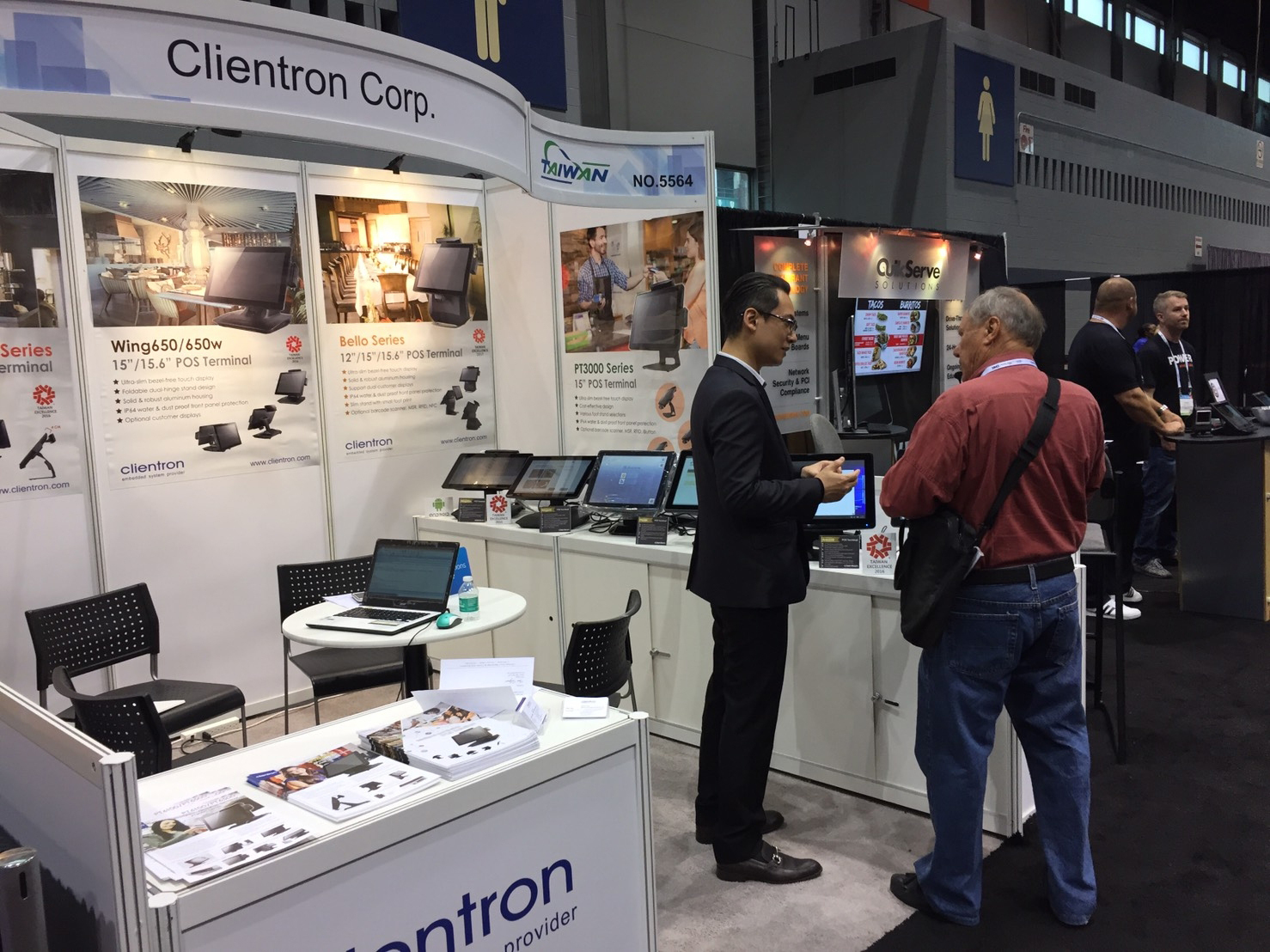 intellasia east asia news - clientron displays pos terminals with