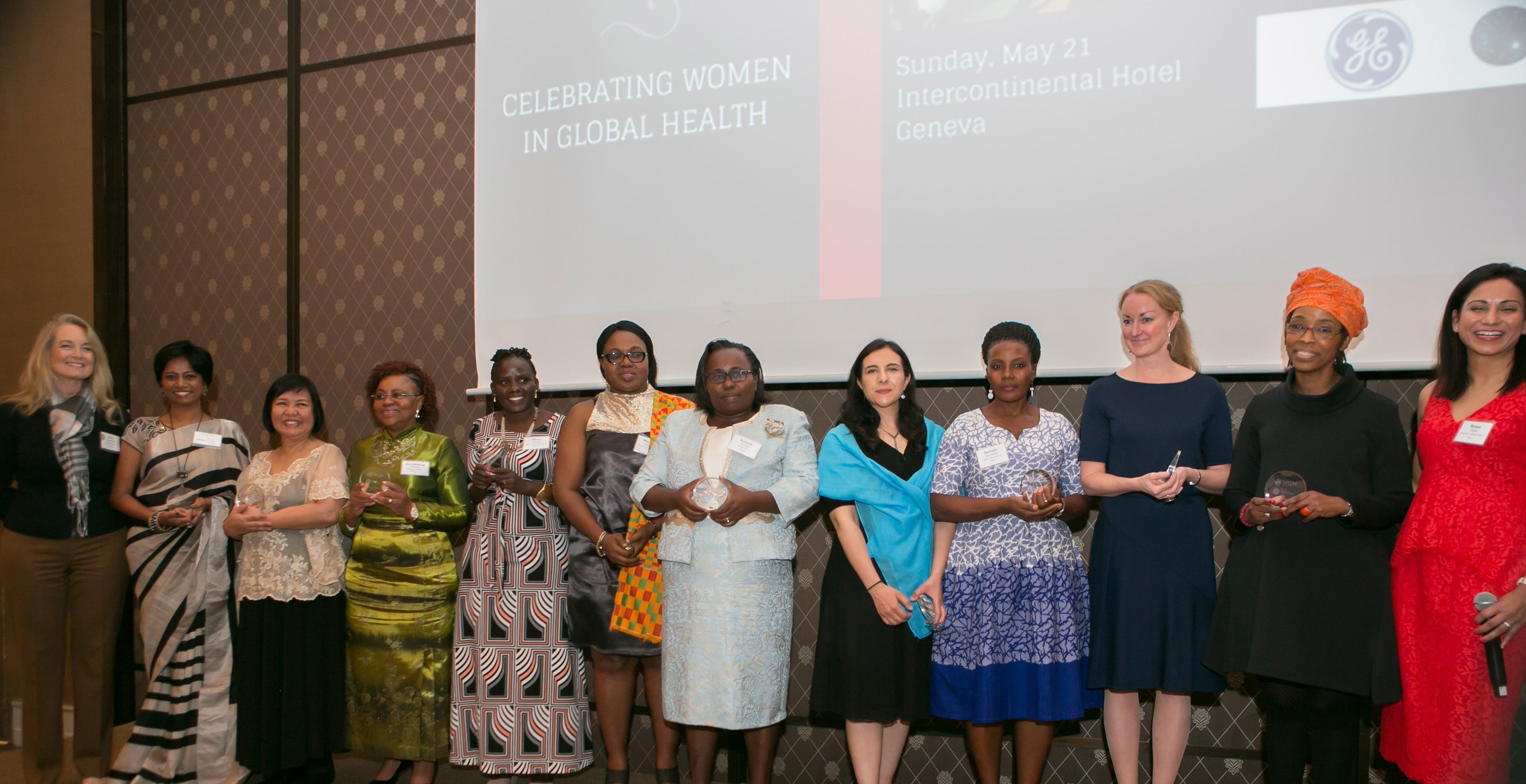 The honorees at the Heroines of Health Awards (Photo: Business Wire)