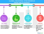 Technavio has published a new report on the global industrial synchronous timing belts market from 2017-2021. (Graphic: Business Wire)