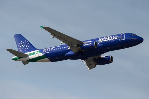 "JetBlue Debuts ""Blue Finest"" Aircraft Dedicated to the New York Police Department"