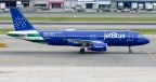In Front of An Audience of Public Service Professionals, JetBlue Debuts 'Blue Finest' Aircraft Dedicated to the NYPD