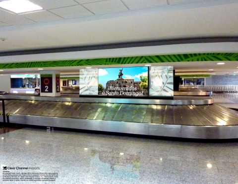 Clear Channel Airports will launch a new in-airport media program as part of a five year renewal with Aerodom in the Dominican Republic. (Photo: Business Wire)