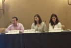 Brian Lapidus, Practice Leader, Identity Theft and Breach Notification at Kroll; Jenn Stueckler, IDShield Product Manager; and Keri Norris, Chief Legal Officer for LegalShield, spoke at the GLSA Conference in Phoenix, Arizona. (Photo: Business Wire)