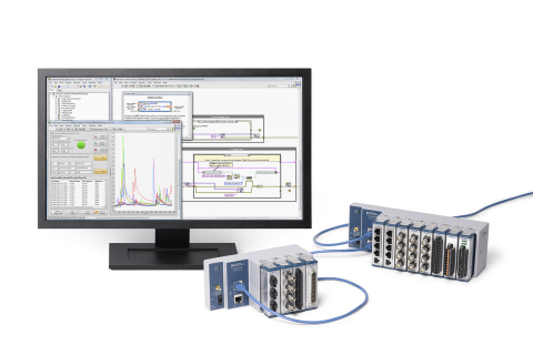 The cDAQ-9185 and cDAQ-9189 introduce new time-based synchronization built on the latest Ethernet standards, furthering NI's efforts in TSN and rugged CompactDAQ hardware for distributed measurements. (Photo: Business Wire)