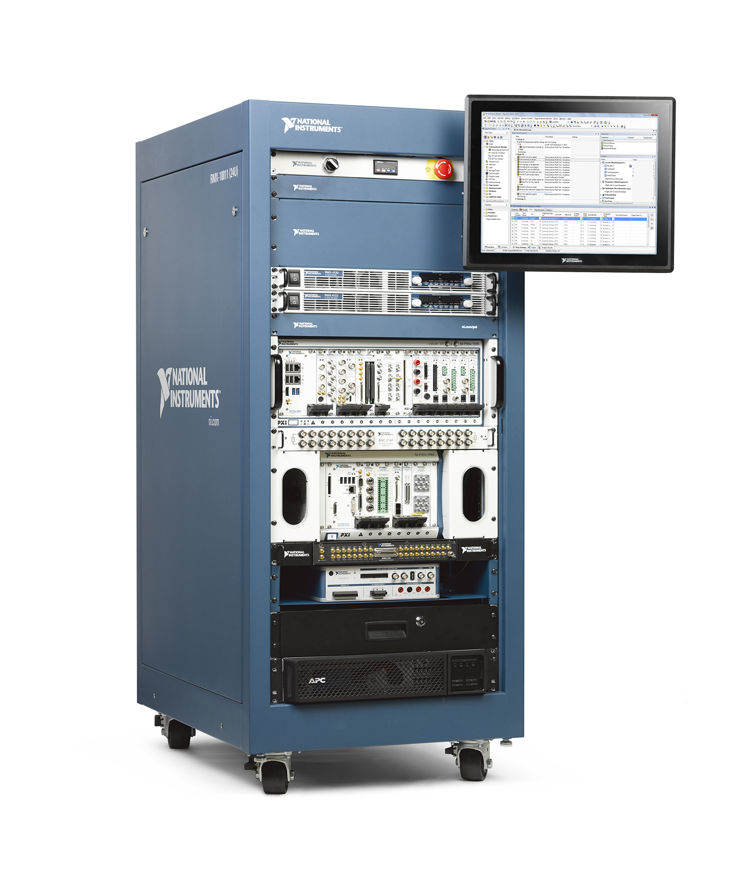 The new ATE Core Configurations deliver core mechanical, power and safety infrastructure to help users accelerate the design and build of automated test systems. (Photo: Business Wire)
