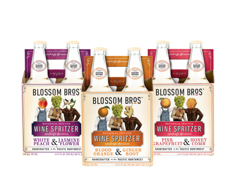 New Blossom Brothers Spritzers (Photo: Business Wire)