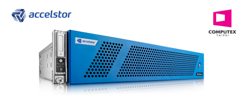 AccelStor will reveal its new-generation NeoSapphire all-flash array at Computex Taipei 2017. (Photo: Business Wire)
