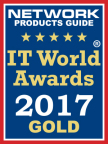 Demisto Enterprise Security Operations Platform won the 2017 Gold Award in the Security Services award category of the 12th Annual IT World Awards® program. (Graphic: Business Wire)