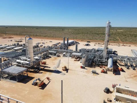 Lucid Energy Group's Red Hills Natural Gas Processing Complex in Lea County, New Mexico (capacity: 3 ...