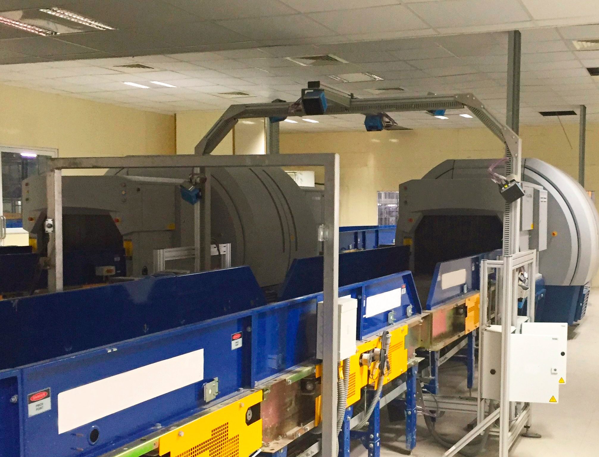 India's Cochin International Airport relies on Smiths Detection's CTX 9800 EDS for hold baggage screening. (Photo: Business Wire)