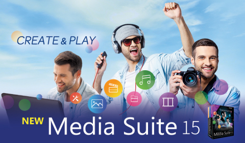 CyberLink Launches Major Update to Top-Selling Suite of Media Playback and Editing Software (Graphic: Business Wire)
