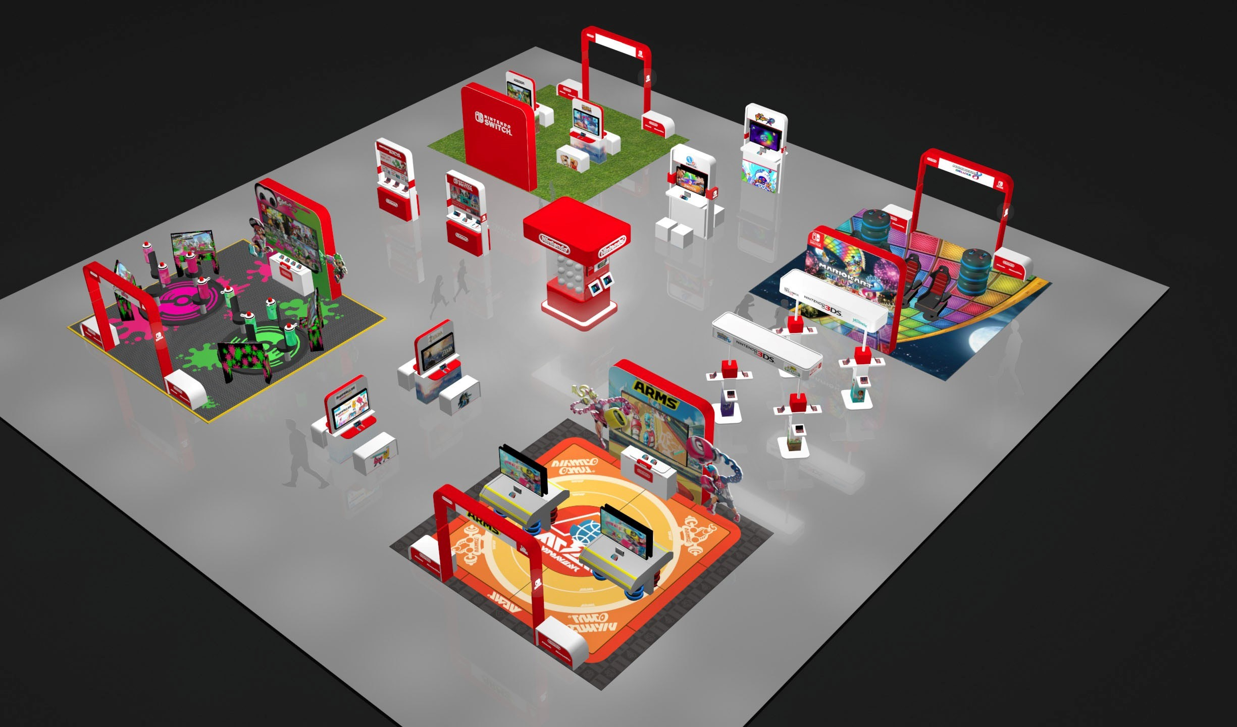 As part of its 2017 Summer of Play tour, Nintendo is taking its Nintendo Switch and Nintendo 3DS family of systems across the country so families everywhere can experience the latest installments in these beloved franchises firsthand. (Graphic: Business Wire)