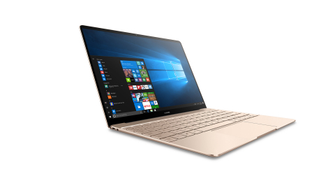 HUAWEI MateBook X in Gold (Photo: Business Wire)