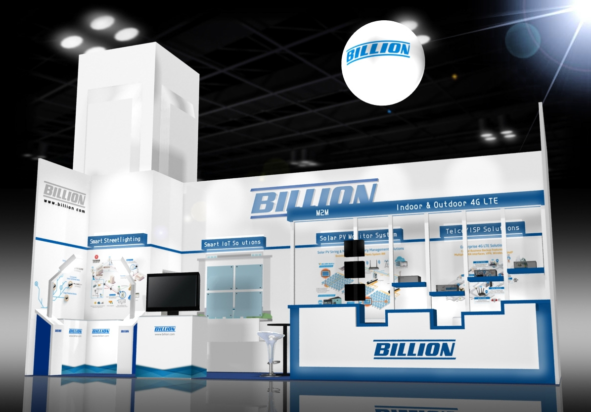 Billion Electric Booth @ Computex 2017 A1119, World Trade Center Exhibition, TWTC Hall 1, Taipei,  Taiwan from May 30th~June 3rd (www.billion.com) (Photo: Business Wire)
