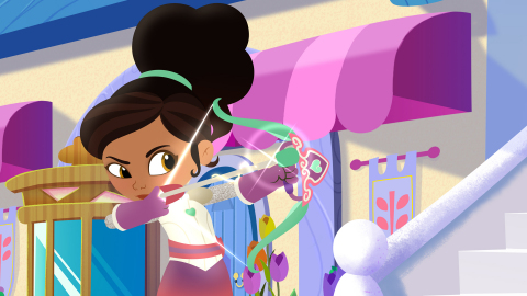 Nickelodeon's Nella the Princess Knight (Photo: Business Wire)