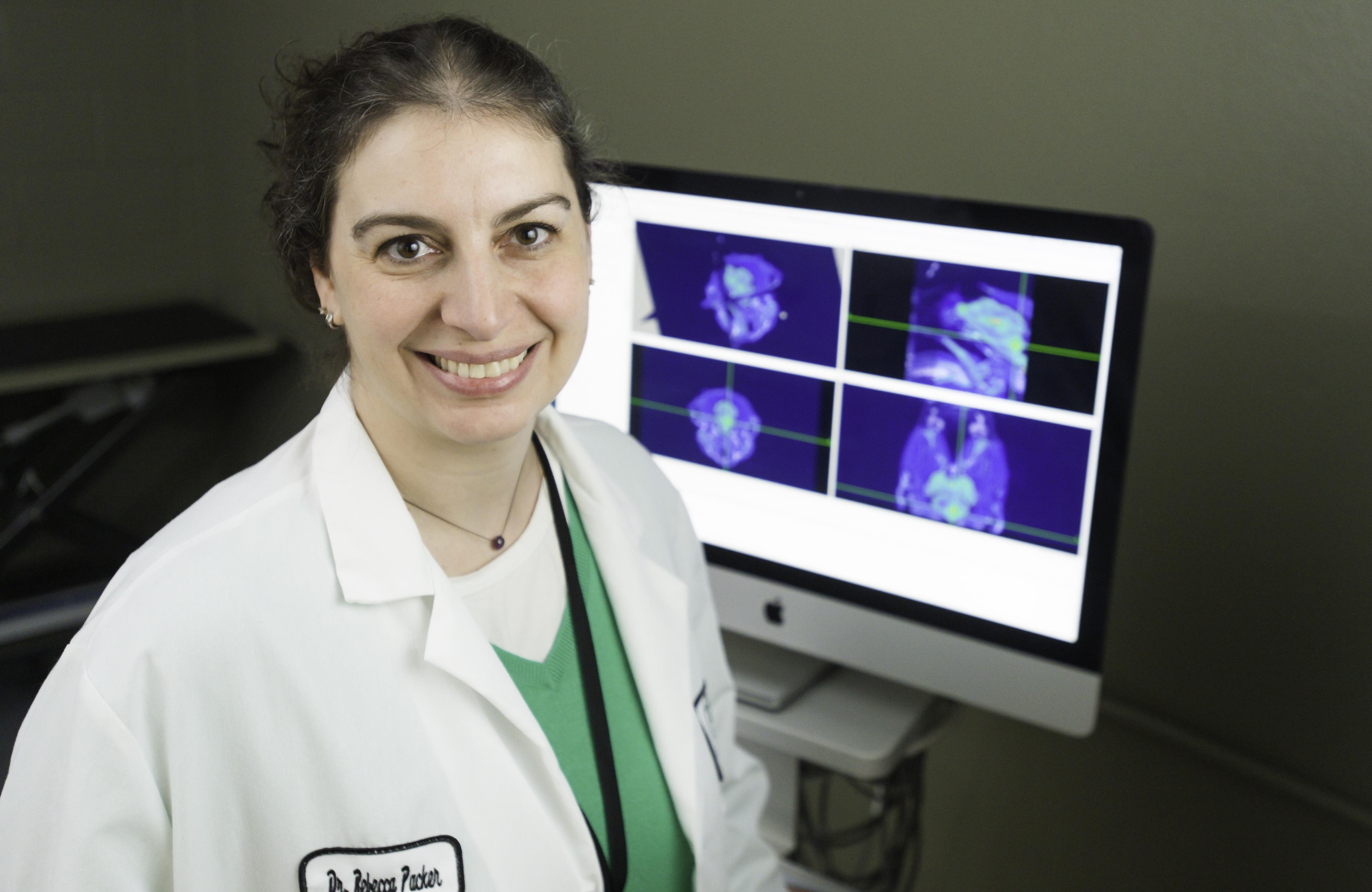 Dr. Rebecca Packer, Neurologist/Neurosurgeon, Associate Professor, Colorado State University Flint Animal Cancer Center (Photo: Business Wire)