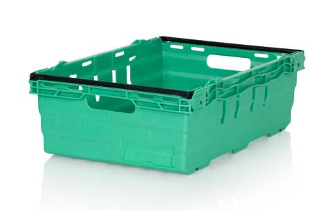 IFCO's standard footprint, nestable Bale Arm tray. (Photo: IFCO)
