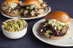 Brisket Sandwich with Smoked California Avocado Relish Recipe by Anthony Chin on behalf of the California Avocado Commission (Photo: Business Wire)