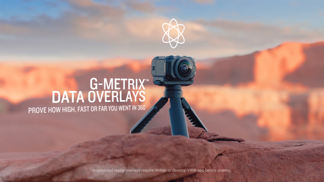 Introducing the VIRB® 360: An immersive 360-degree 5 7K camera