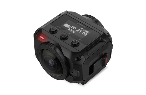 The VIRB® 360 - An immersive 360-degree 5.7K camera experience from Garmin®. (Photo: Business Wire)