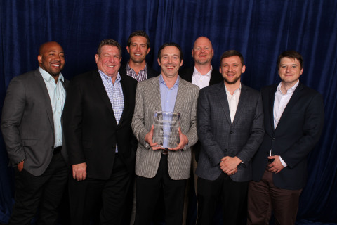 Hitachi Power Tools Awarded for Highest Sales to Sphere 1 Members by Brand for 5th Consecutive Year! (Photo: Business Wire)