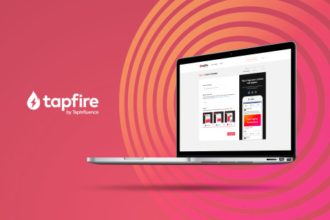TapFire by TapInfluence (Photo: Business Wire).