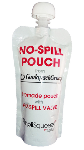 No-Spill Spouted Pouch (Photo: Aptar and GualapackGroup)
