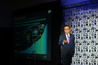 President of Samsung Electronics' semiconductor division, Kinam Kim, presented at the Samsung Foundry Forum 2017, Santa Clara, Calif., on May 24, 2017. (Photo: Business Wire)