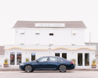 The new Lincoln Continental is the official vehicle of The Surf Lodge providing guests with an effortless and luxurious drive experience during their Hamptons' stay. (Photo: Business Wire)