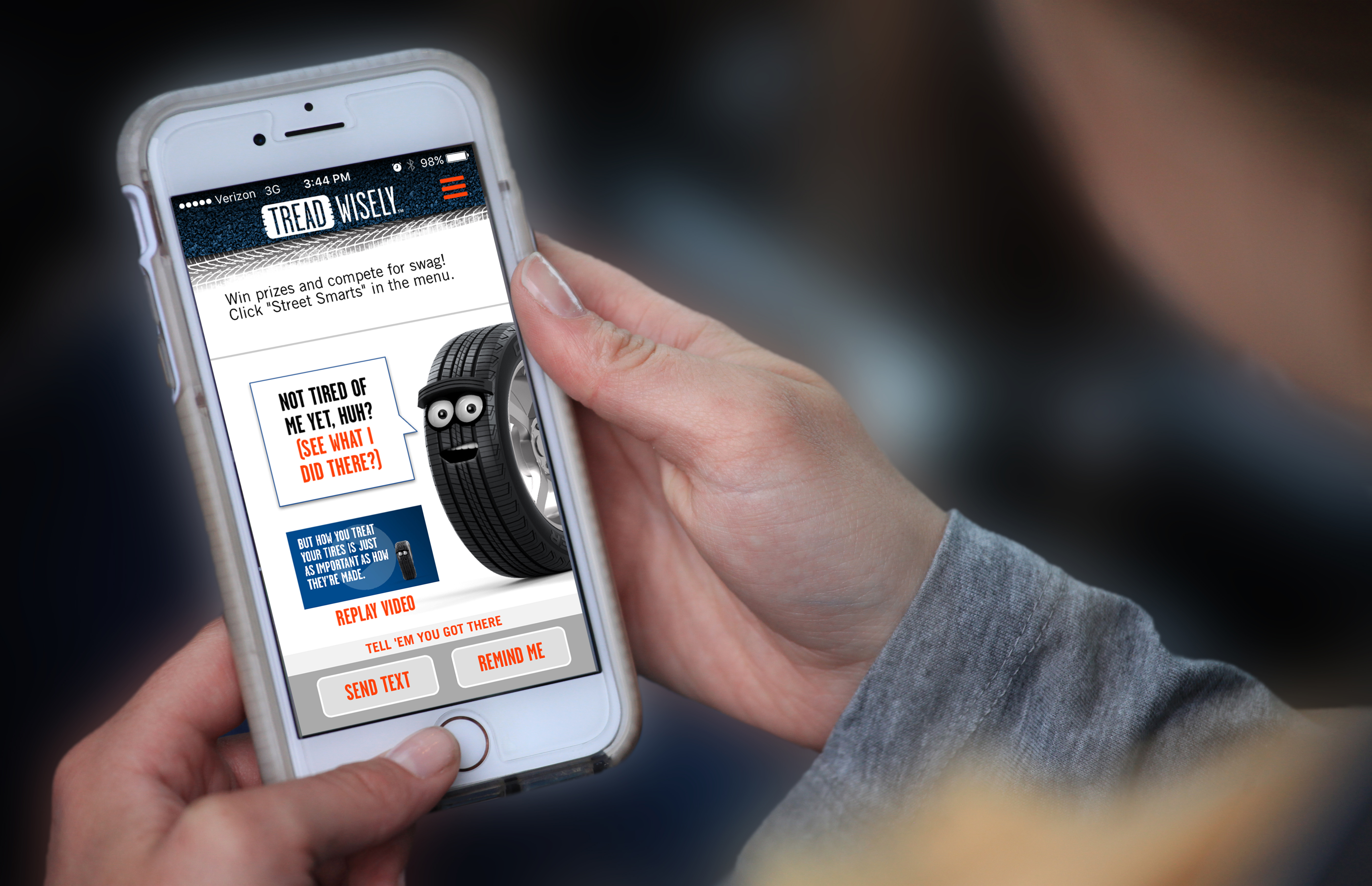 Just in time for the summer driving season, Cooper Tire & Rubber Company, in partnership with the National Organizations for Youth Safety (NOYS), has launched a new free app, Tread Wisely. The app helps young drivers be safe on the road by providing useful tire and vehicle safety information such as how-to videos on topics such as how to change a flat tire, what to do if you are in a car accident and more. The app is free and available for Android and iOS devices. (Photo:Business Wire)