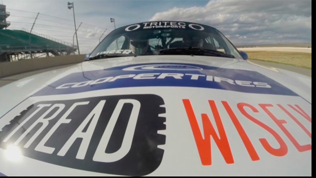 Meet Johnny and Loni Unser and the Tread Wisely app! (Video: Business Wire)